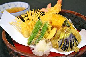 天ぷらセット(野菜)